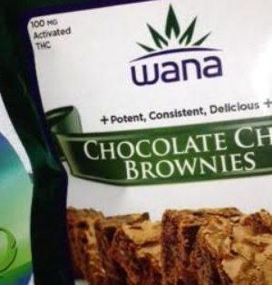 Wana Chocolate Chip Brownies