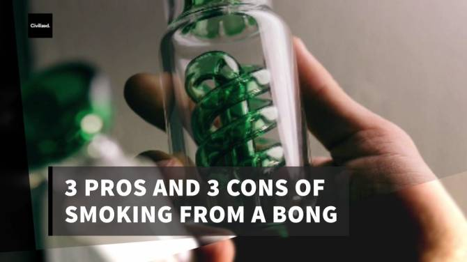 3 Pros Cons of Bongs